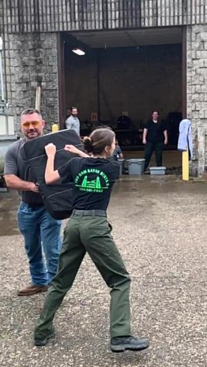 Park rangers endure pepper spray