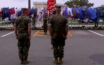 5th ANGLICO change of command ceremony