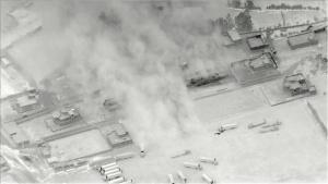 Defensive Precision Airstrikes in Iraq-Syria Border Region