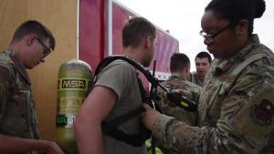 Joint HAZMAT Training (b-roll)
