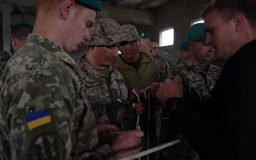U.S. Marines begin CRRC instruction with Ukrainian Marines