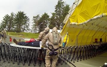 "Oregon Guardsmen Participate in ""Rogue One"" Preparedness Exercise"