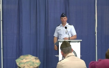 Special Operations Command Africa conducts change of command ceremony
