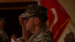 CLR-3 Conducts Change of Command Ceremony