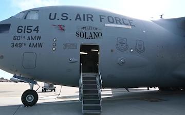 Travis AFB C-17 B-Roll