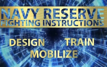 Navy Reserve Fighting Instructions Video Series – Mobilize the Force