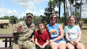 Maj. Karl Buckingham and Family Independence Day Shoutout