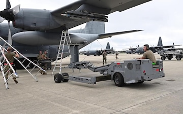 The 73rd AMU participates in load competition