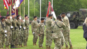 Victory Medics Change of Command Ceremony