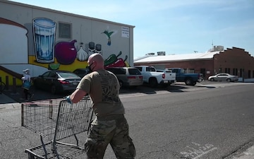 AZNG supports Phoenix area food bank operations