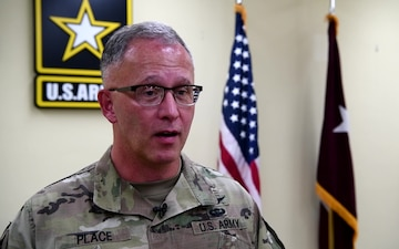 Interview with Major General Michael Place
