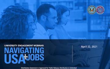 University Engagement Webinar: Navigating USAJOBS