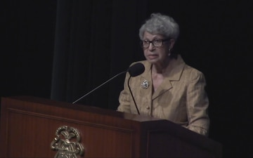 BG (R) Cadoria Hall of Fame Induction - Personal Courage