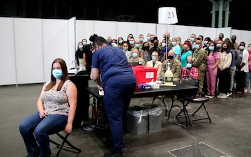 Joint Task Force Javits Ends Vaccination Mission July 9, 2021
