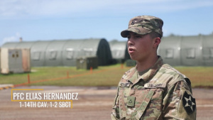 Faces of Forager 21: Pfc Hernandez