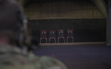 10th Special Forces Group held a marksmanship pistol competition