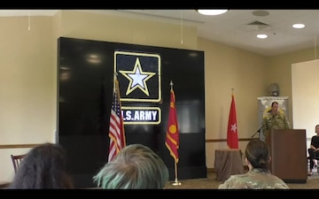 Col. Santee Vasquez Welcomed as Crane Army's New Commander
