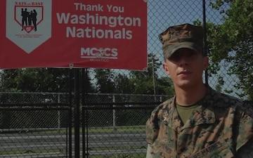 Washington Nationals - Lance Cpl. Andrew Herwig