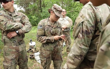 469th Combat Engineers conduct explosives training
