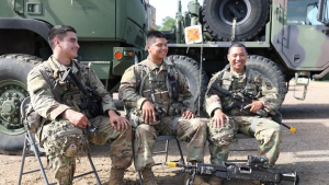 153rd Infantry Regiment Soldiers discuss their JRTC experience