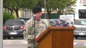 U.S. Army Garrison Italy Change of Command Ceremony, July 16, 2021