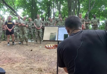 Religious Services in the Field   Cadet Summer Training 2021