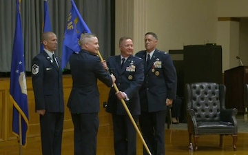 616th Operations Center   Change of Command