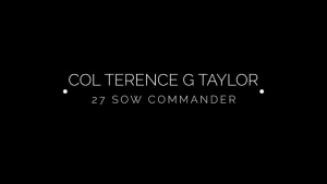 Welcome Home Col Taylor