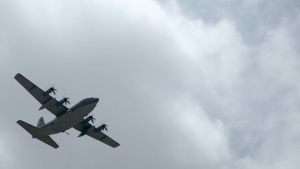 AC-130J Ghostrider gunship B-Roll