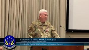 505th Combat Training Squadron Change of Command Ceremony