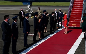 First Lady Jill Biden Visits Yokota Air Base
