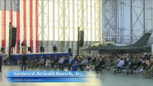 LIVE: Air Force Test Center Change Of Command Ceremony Major General Evan C. Dertien