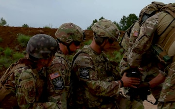 2021 National Best Warrior Competition C-4 Breaching Charge Detonation
