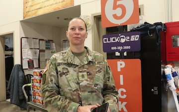 Fort McCoy Garrison CSM discusses ease of using Commissary CLICK2GO online ordering