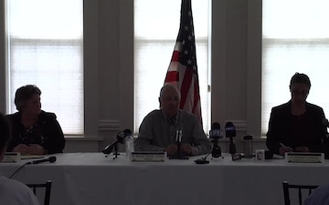 arlisle Barracks Disinterment Project Press Conference