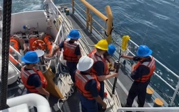 Coast Guard assists 5 aboard fishing vessel after collision near Port O'Connor, Texas