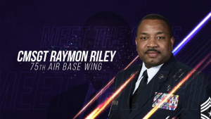 Meet the Chief: Chief Master Sgt. Raymond Riley