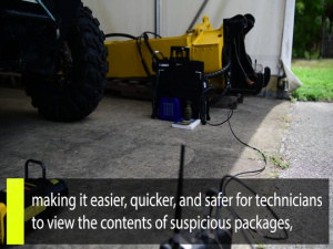 Inside AFIMSC: AFCEC equips EOD forces with upgraded portable imaging technology