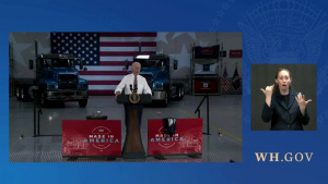 """President Biden Delivers Remarks at a """"Buy American"""" Event"""