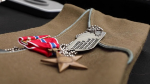 Heroism knows no age:  WWII veteran presented Bronze Star Medal 75 years later