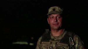 Romania's Sky Guardians light the night sky
