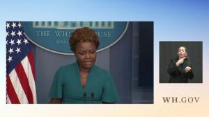 Press Briefing by Principal Deputy Press Secretary Karine Jean-Pierre