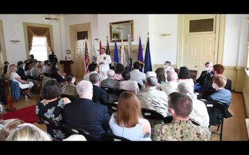 Joint Enabling Capability Command Change of Command Ceremony