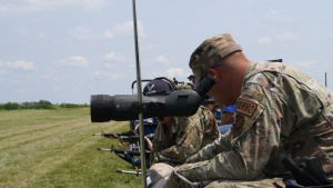 USAF High Power Rifle Team teach Small Arms Firing School B-Roll Package