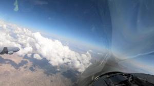 Red Flag 21-3: KC-46A Pegasus Refuels 64th Aggressor F-16 Fighting Falcons