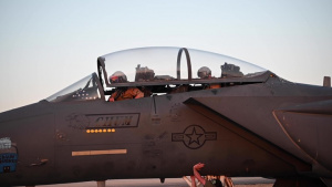 Strike Eagles conduct c-UAS alert exercise