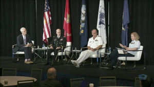 Top DOD Health Leaders Speak at Sea-Air-Space Exposition