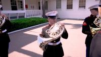 "1st Marine Division Band Performs ""Waltzing Matilda"""