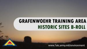 B-Roll Grafenwoehr Training Area Historic Sites