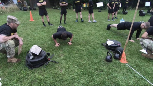 U.S. Army Europe and Africa Best Warrior Competition ACFT